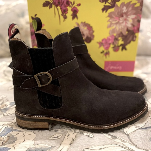 Joules Shoes | Ankle Boots Black 10